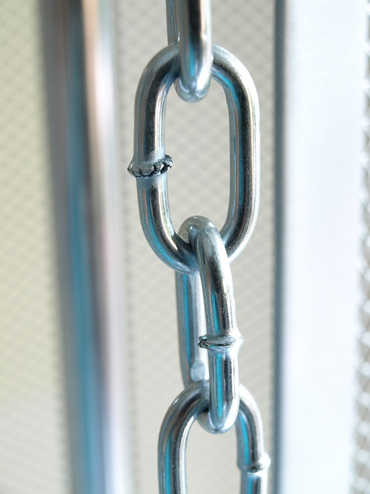 Chain, Links Of The Chain, Metal Chain, Stainless Steel