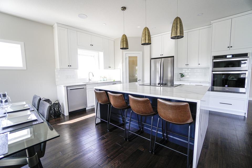 Kitchen, Bar Stools, Decor, Apartment, Home, Sit, Chair