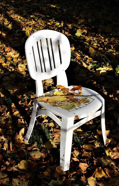 Autumn, Garden, Chair, Autumn Leaves, Colors, Leaf