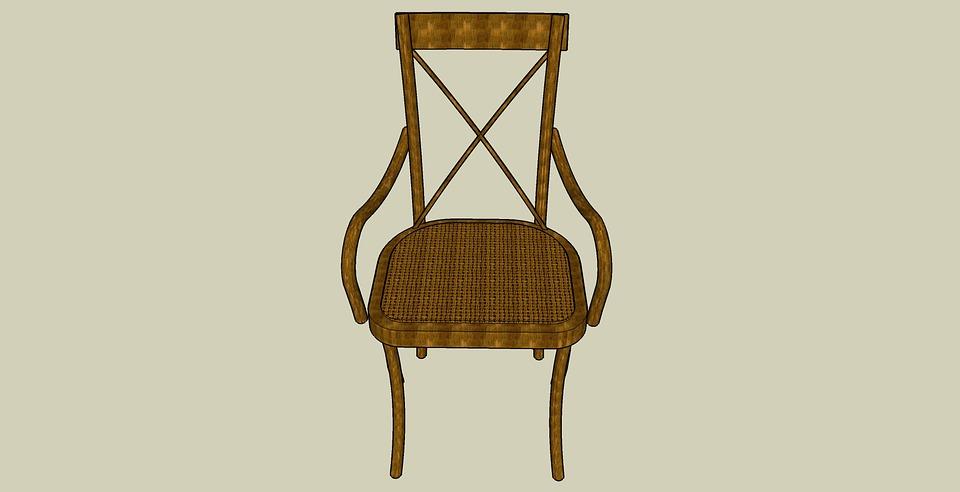 Chair, Cartoon, Sit, Sitting, Relax
