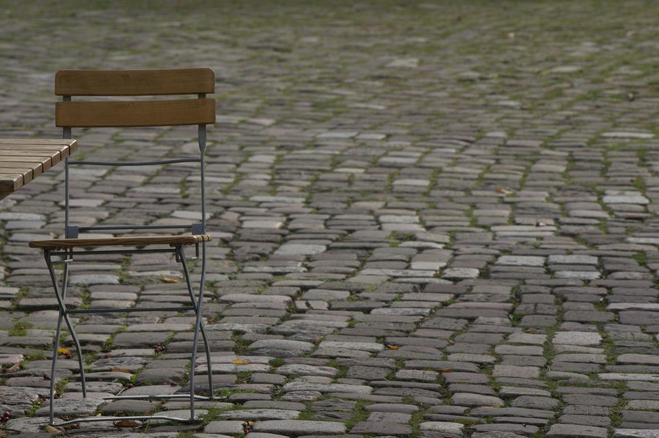 Patch, Chair, Table, Road, Furniture, Street Cafe