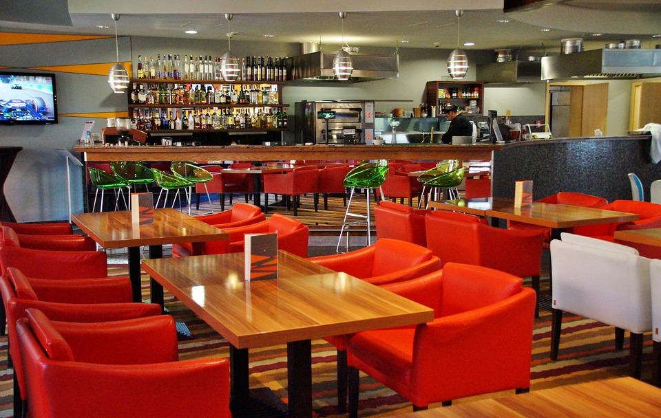 Bar, Chair, Tables, Sit, Have Fun
