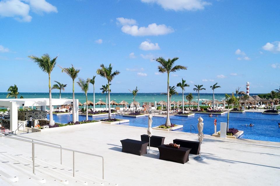 Chair, Beach, Costa, Ease, Hotel, Tourist Season