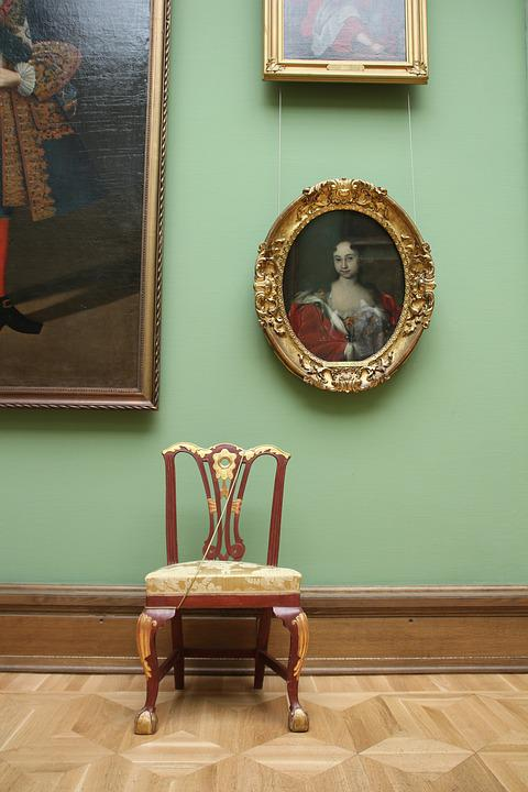 Gallery, Tretyakov, Moscow, Chair, Still Life