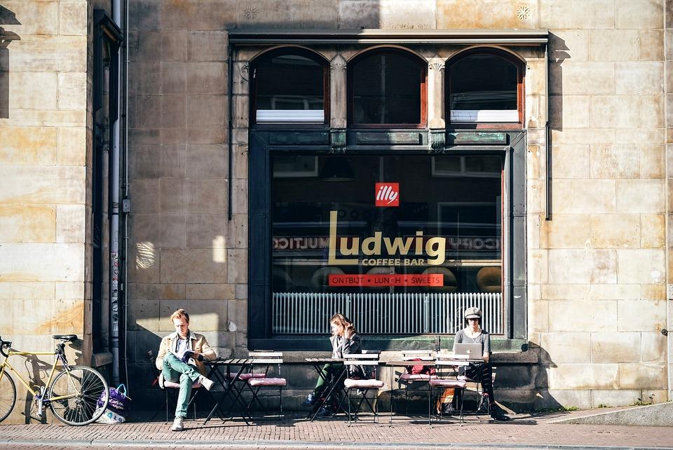Architecture, Bar, Building, Café, Chairs, Coffee Bar
