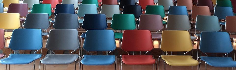 Chairs, Public, Presentation, Class, Auditorium
