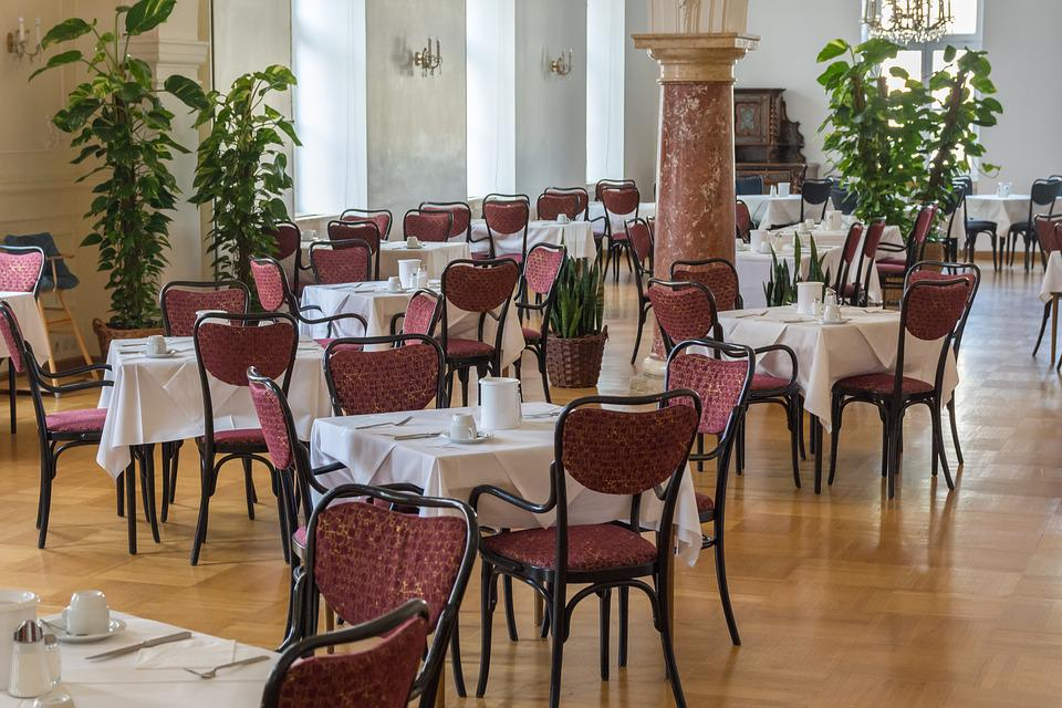 Dining Room, Chairs, Tables, Restaurant