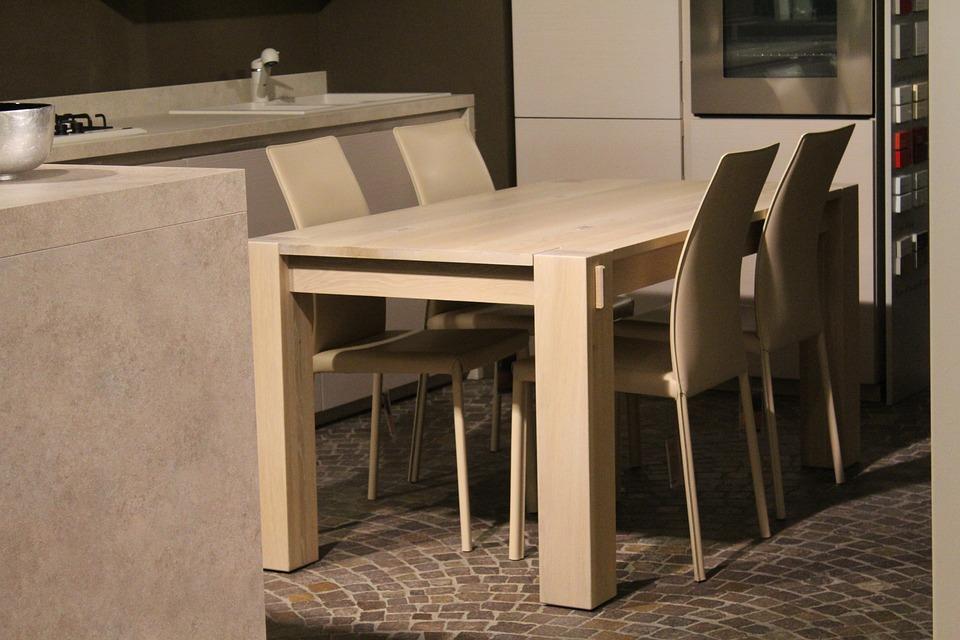 Table, Chairs, Interior, Interior Decor, House, Arredo