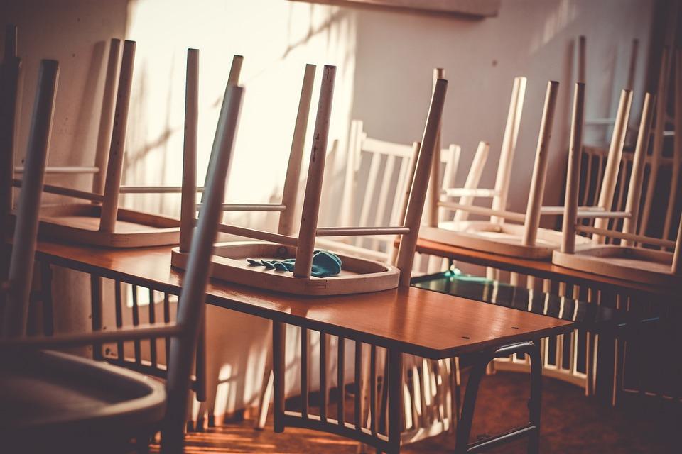 Class, Classroom, Room, School, Empty, Interior, Chairs
