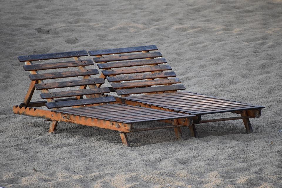 Beach Chairs, Beach, Chairs, Sand, Seashore, Shore