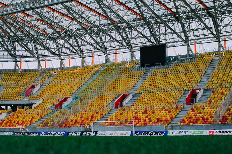 Stadium, Seating, Arena, Empty, Sport, Chairs, Seats