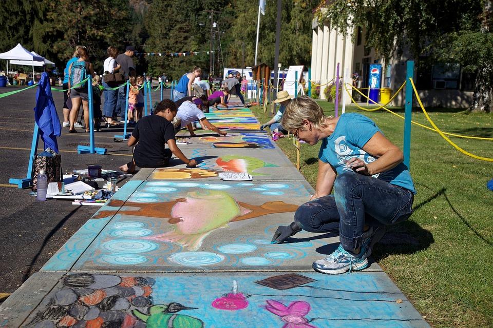 Chalk Artists, Artist, Chalk, Artistic, Drawing, Sketch