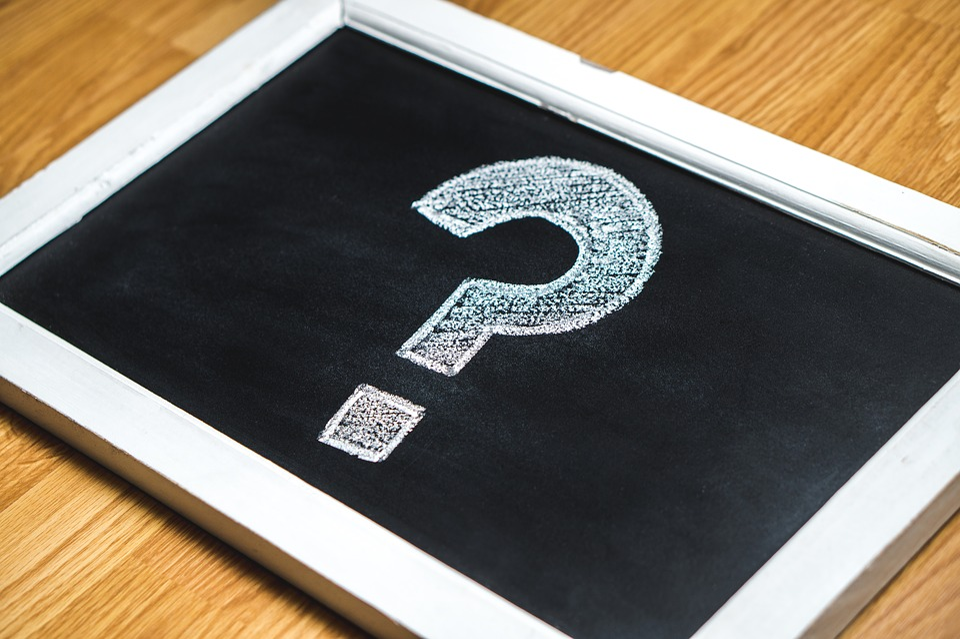Question Mark, Hand Drawn, Solution, Think, Chalk Board