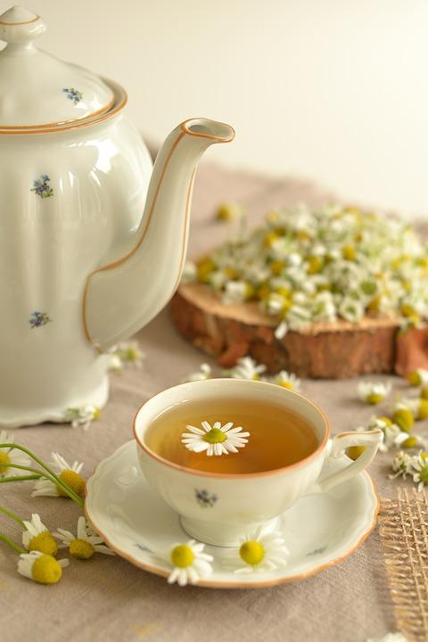 Tea, Herbs, Chamomile, Health, Flowers