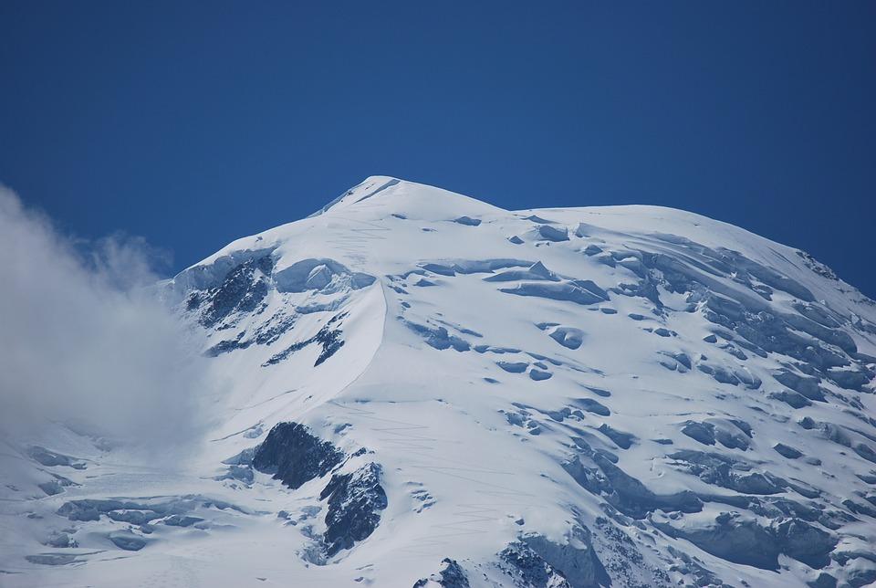 Chamonix, Mountains, Snow