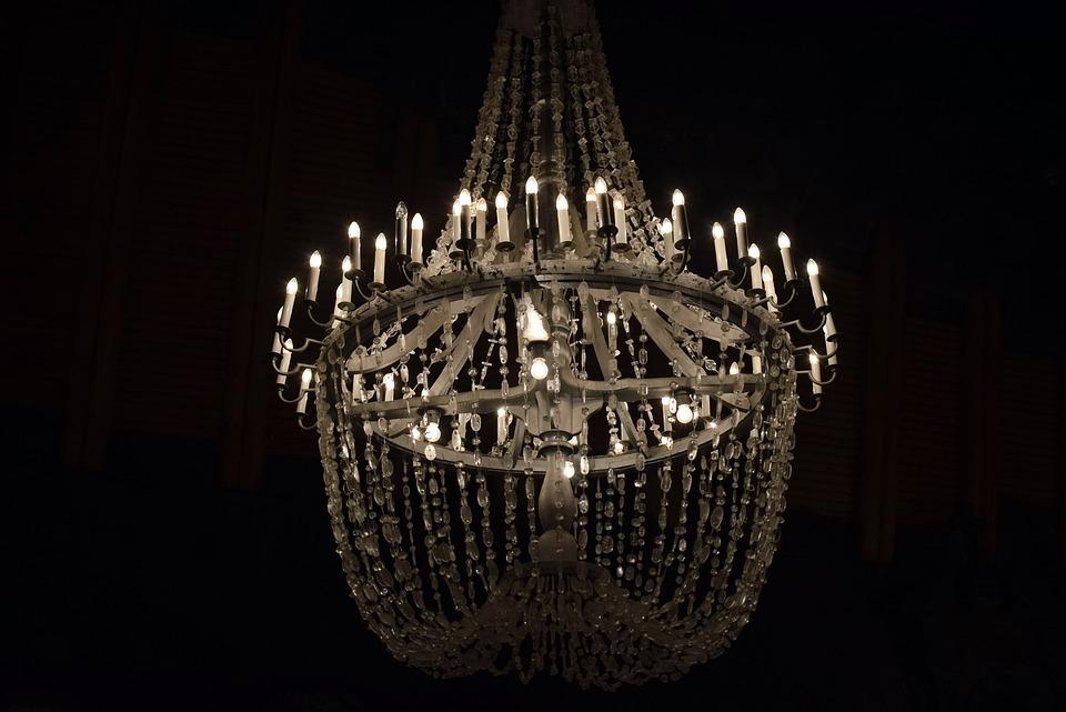 Chandelier, Lamp, Lights, Decorative, Decoration