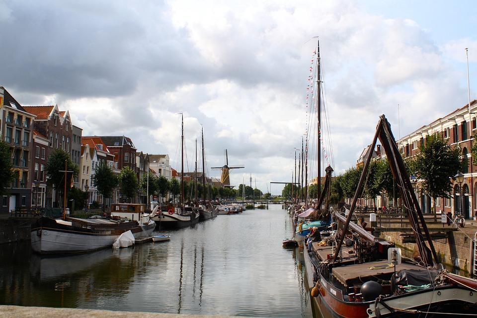 Channel, Rotterdam, Boat