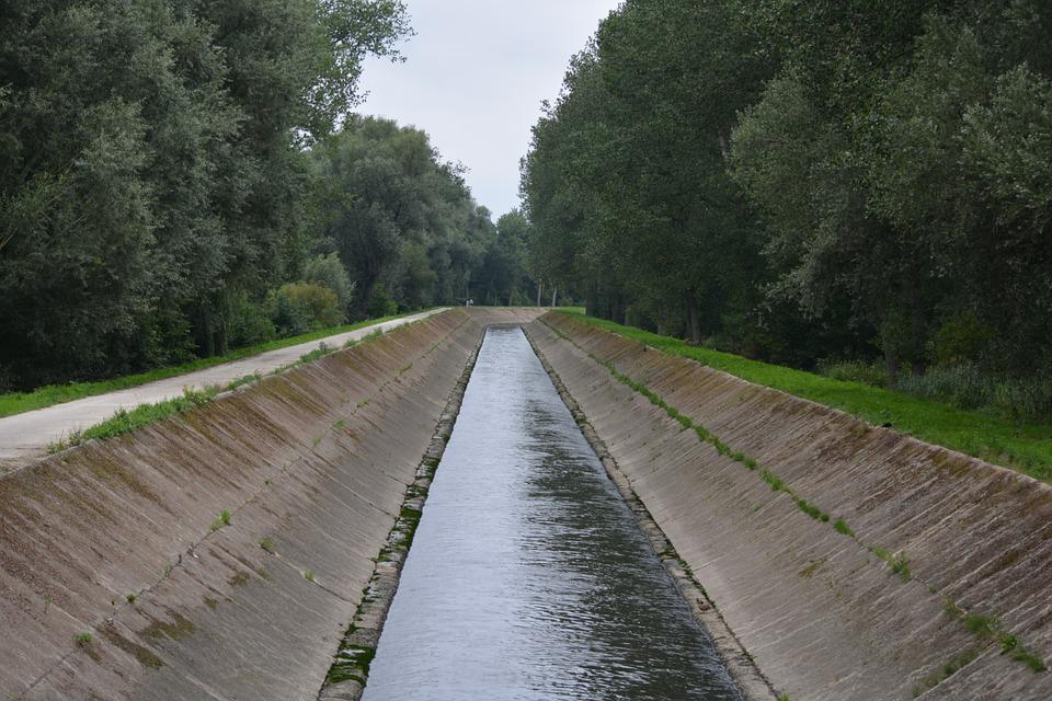 Channel, River, Nature, Water, Senne