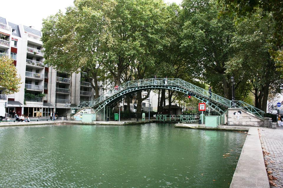 Channel, Saint Martin, Paris
