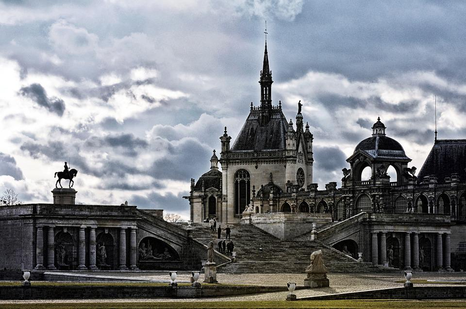 Castle, Architecture, Chantilly, France, History