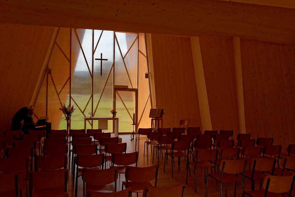 Chapelle, Chapel, Saint Loup, Switzerland, Architecture
