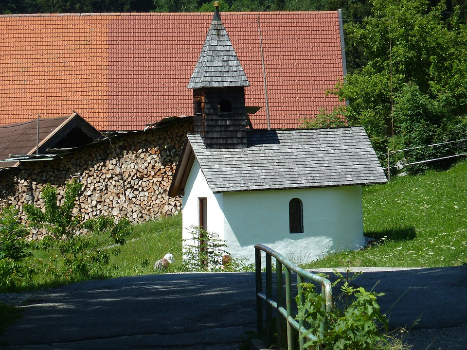 Chapel, Church, House Chapel, Landscape, Building