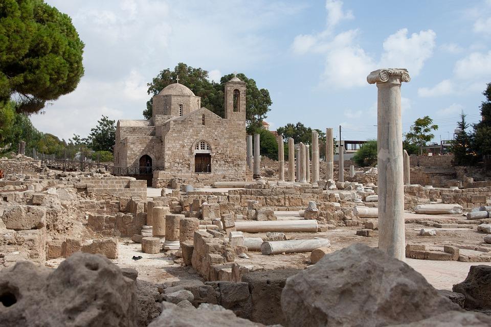 Chapel, Early, Christian, Basilica, Church, Cyprus