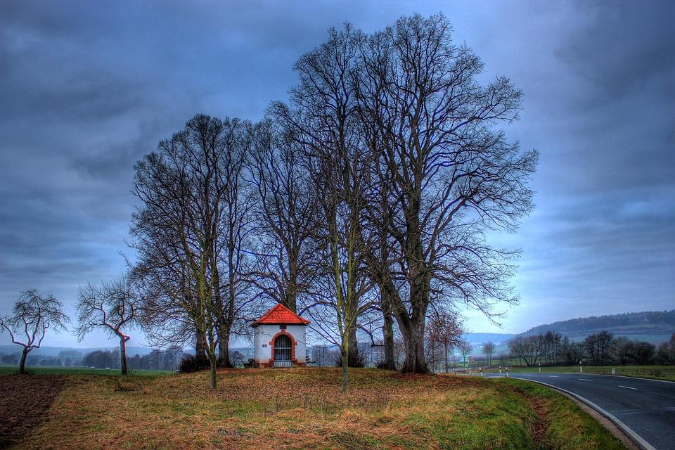 Chapel, Holy, Church, Faith, Landscape, Religion