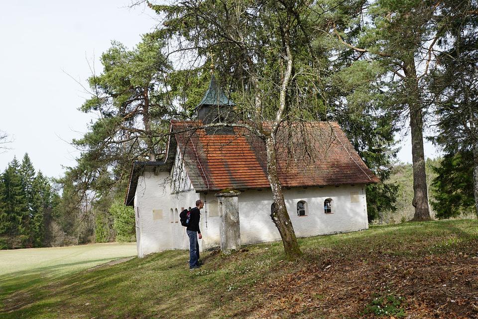 Chapel, Home, Nature, Hiking, Forest, Danube, Fridingen