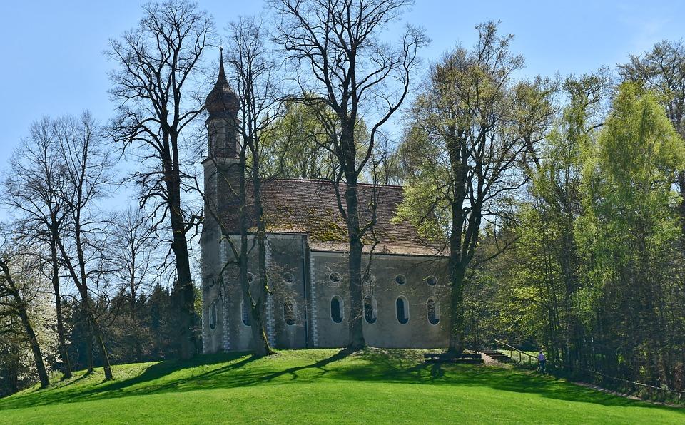Church, Chapel, Mr Locking, Ilmmünster, Winter