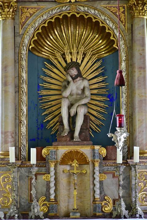Altar, Church, Chapel, Mr Locking, Ilmtal, Baroque