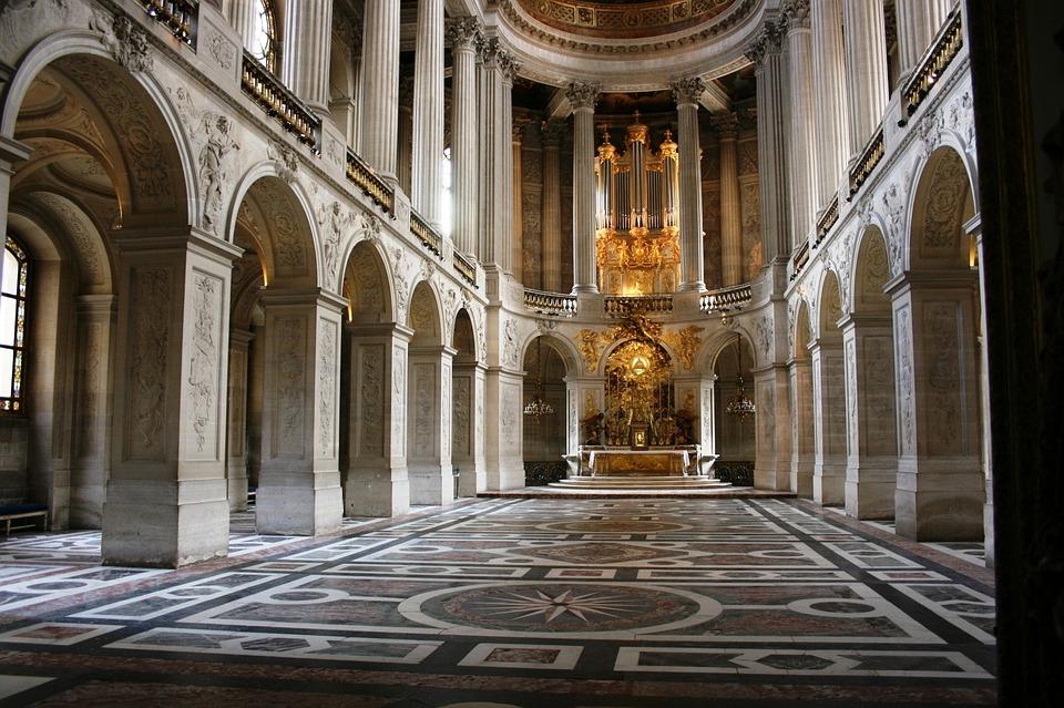 Chapel, Palace Of Versailles, Palace, Versailles