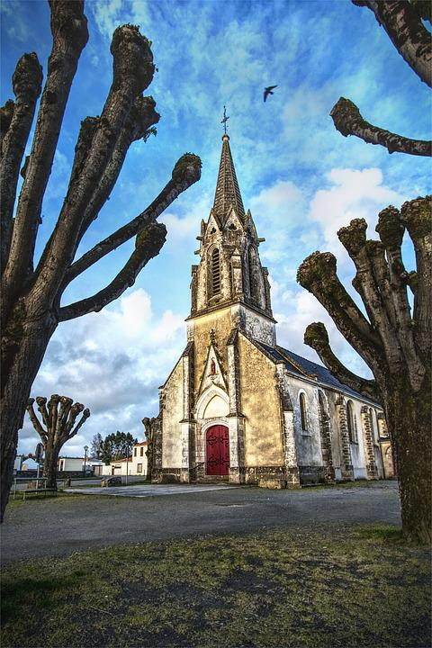 Church, France, Ancient Monument, Religion, Chapel