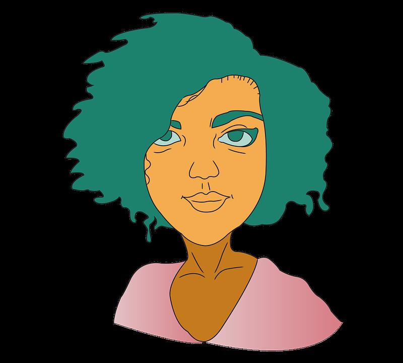 Vector Art, Digital Art, Girl, Character, Cartoon