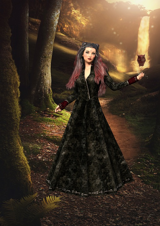 Woman, Fantasy, Character, Girl, Magic, Spell, Forest
