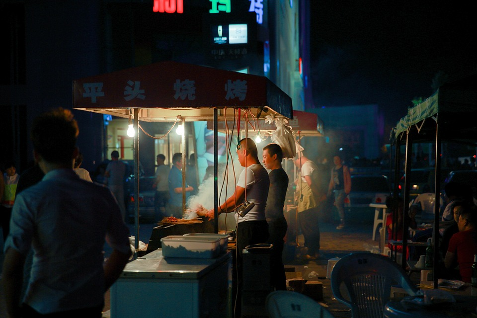 The Night Market, Barbecue, Character