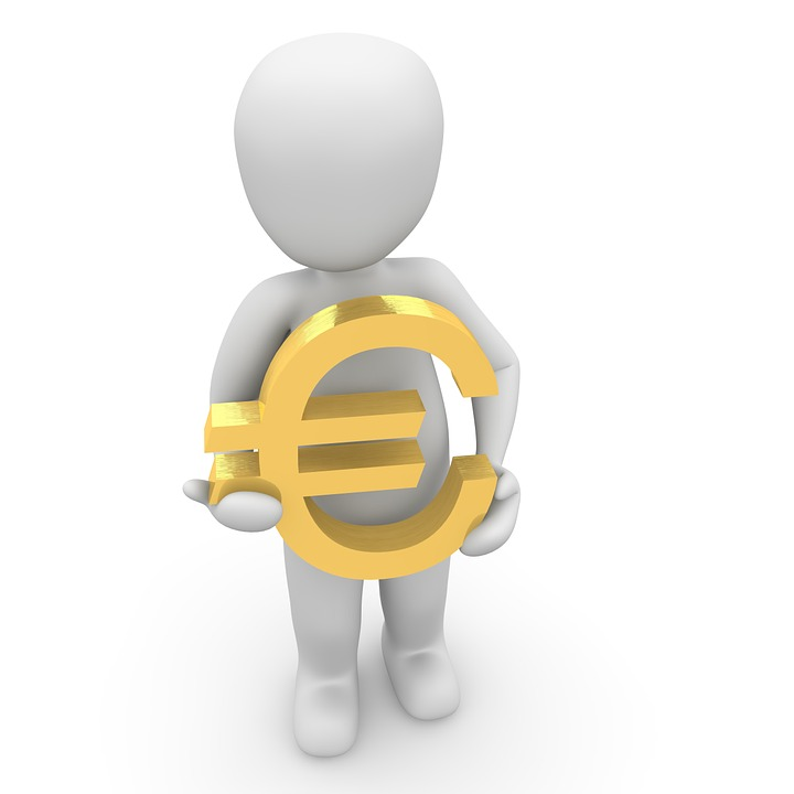 Euro, Characters, 3d, Symbol, Europe, Currency