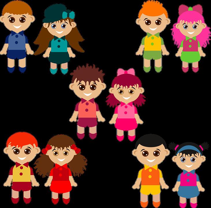 Boys, Characters, Girls, Kids