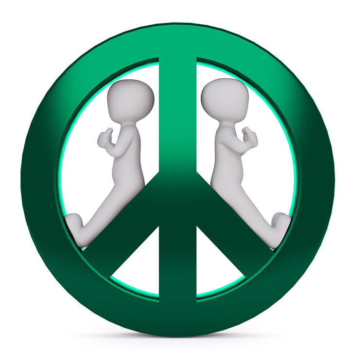 Free Photo Characters Symbol Peace Sign Harmony Green Peace Max Pixel