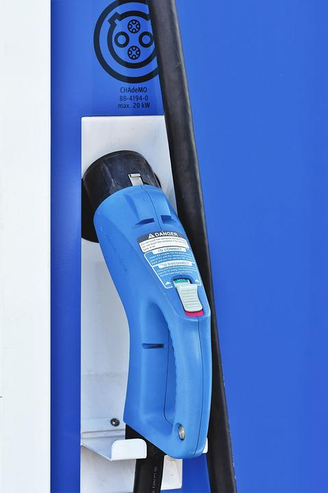Loading Column, Charging Station, Electric Mobility