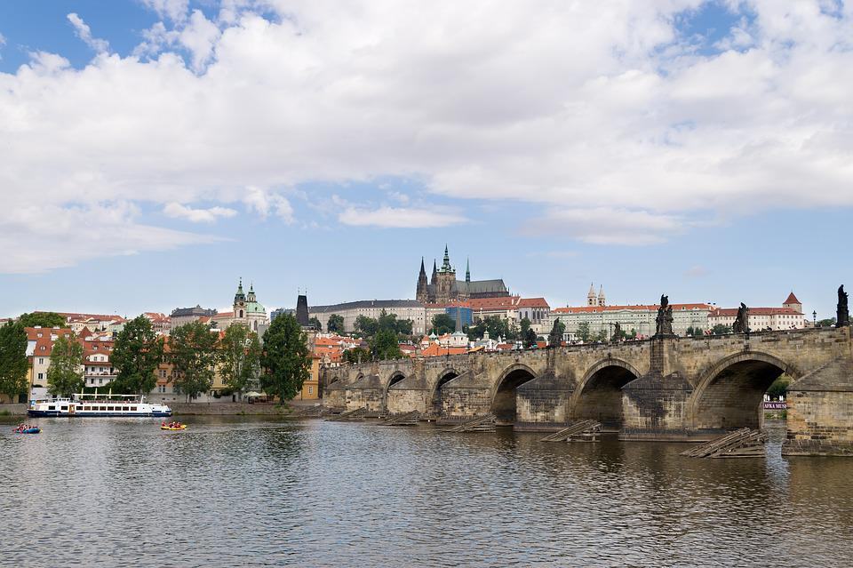 Prague, Prague Castle, Charles Bridge, Czech Republic