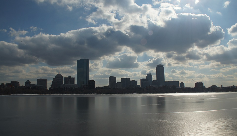 Boston, Massachusetts, Charles River, Skyline, Water