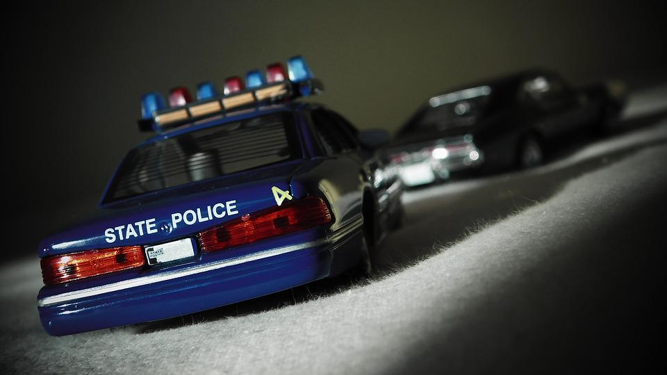 Police Car, Police, Chase, Ford, Crown Victoria