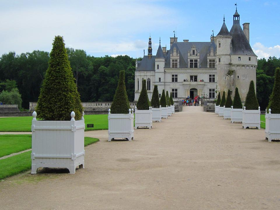 Chenonceau, Loire, Chateau, France, Architecture