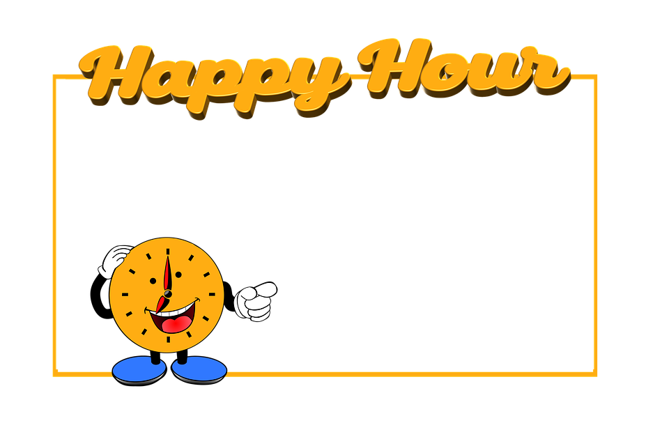 Happy Hour, Gastronomy, Beverages, Cheap, Cheaper