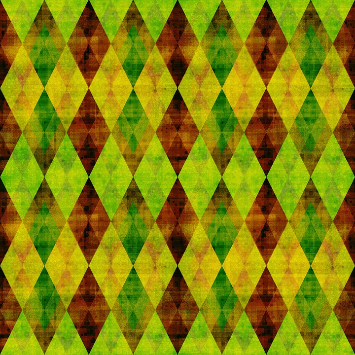 Rhomboid, Rhombus, Checkered, Mosaic, Shape, Dramatic
