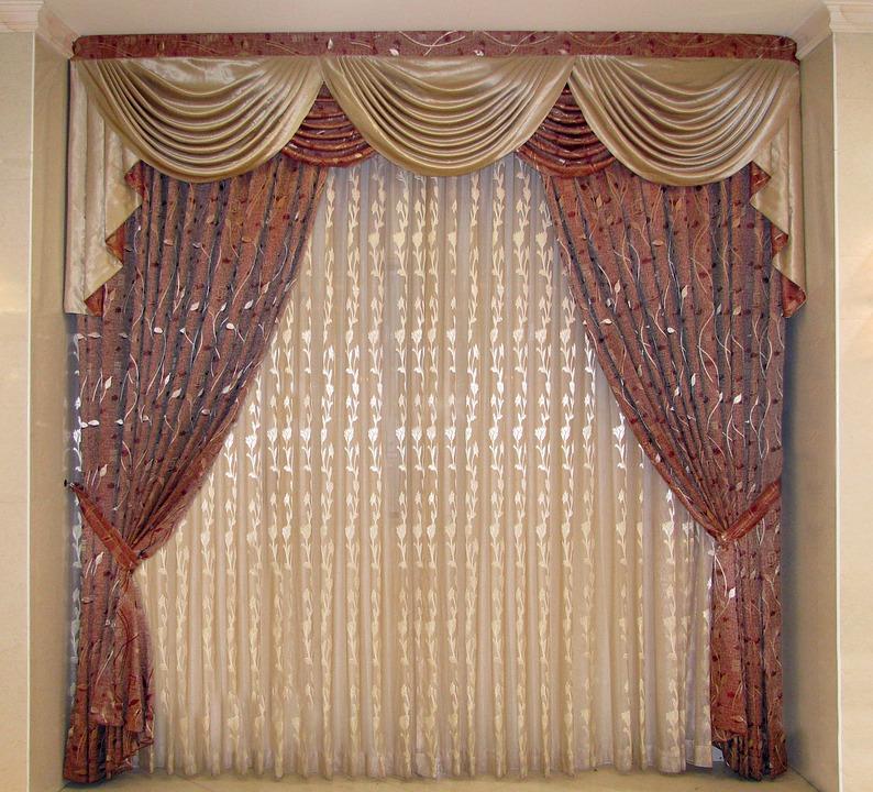 Free photo Checks Drapes Window Curtains - Max Pixel