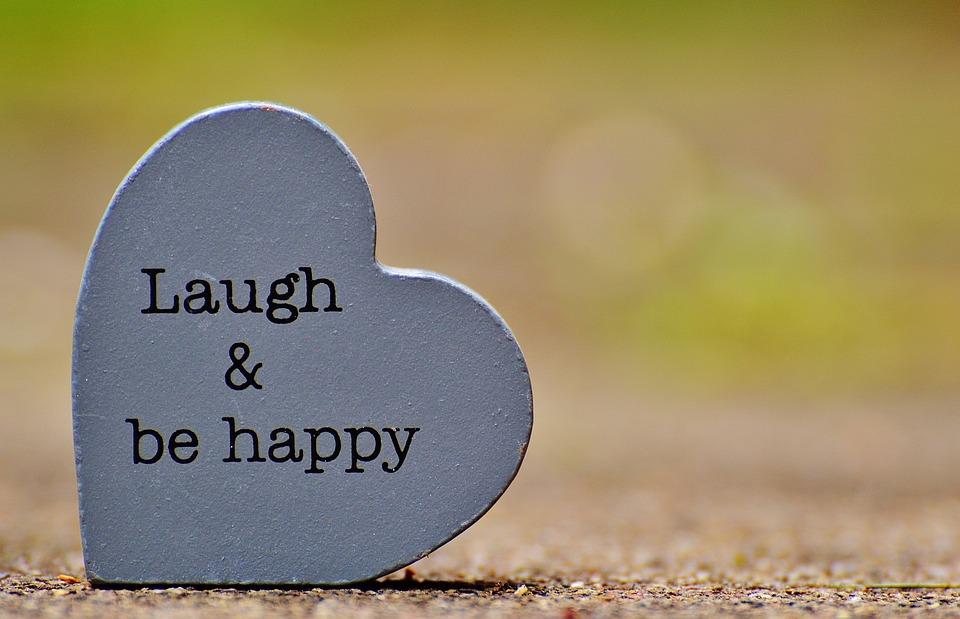 Laugh, Cheerful, Happy, Positive, Smile, Live, Joy