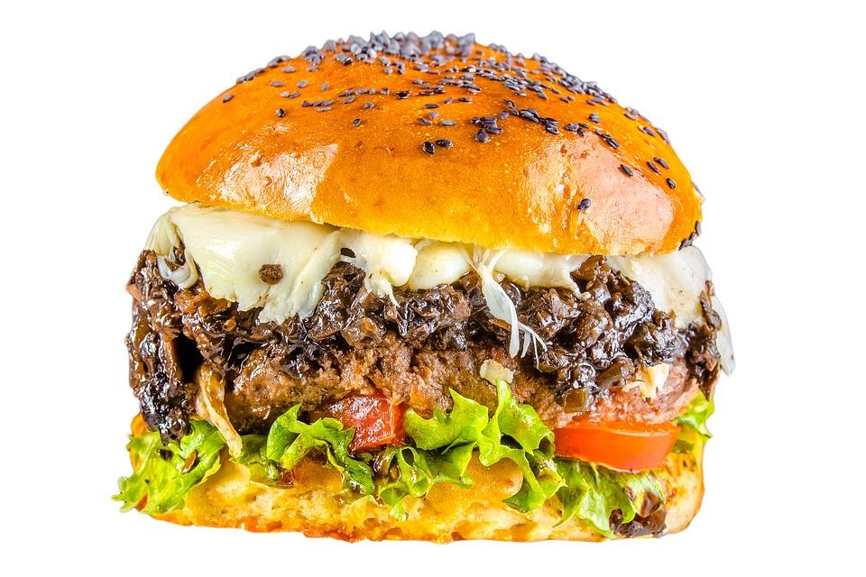 American, Beef, Bread, Bun, Burger, Cheese