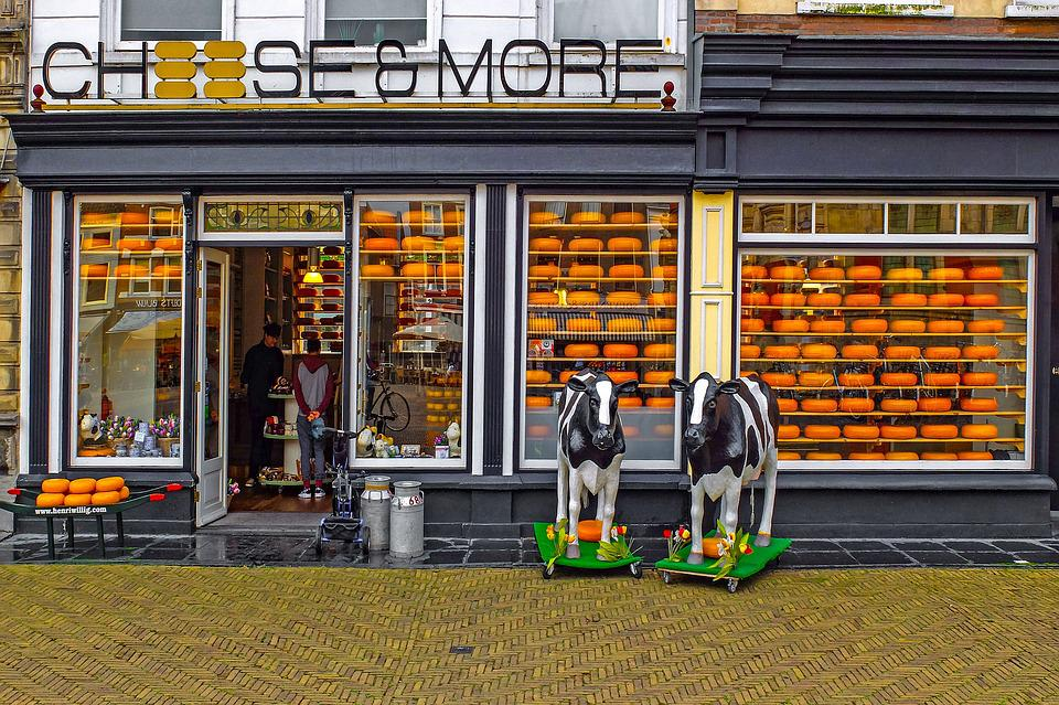 Cheese, Shop, Cheese Factory, Gouda, Delft, Netherlands
